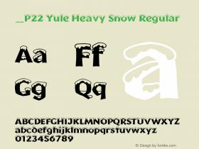 P22 Yule Heavy Snow