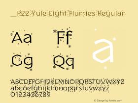 P22 Yule Light Flurries