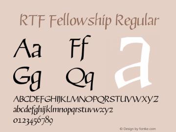 RTF Fellowship