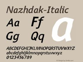 Nazhdak-Italic