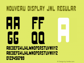 Nouveau Display JNL