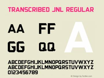 Transcribed JNL