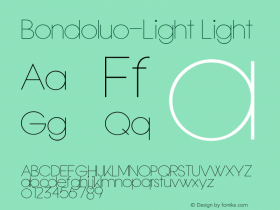 Bondoluo-Light