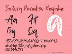 Bakery Paradise