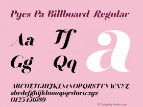 Pyes Pa Billboard