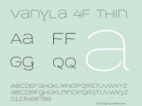 Vanyla 4F