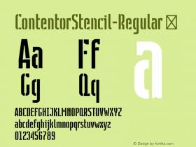 ContentorStencil-Regular