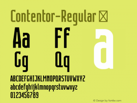 Contentor-Regular