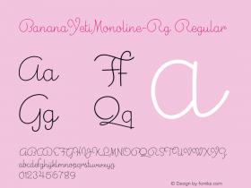 BananaYetiMonoline-Rg