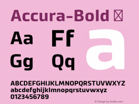 Accura-Bold
