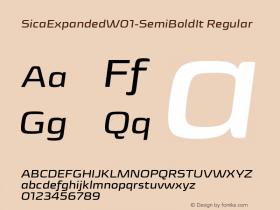 SicaExpanded-SemiBoldIt