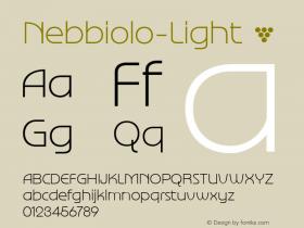Nebbiolo-Light