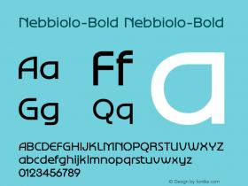 Nebbiolo-Bold