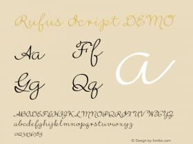 Rufus Script