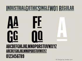 IndustrialGothicSingle