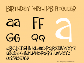 Birthday Wish PB