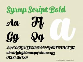Syrup Script