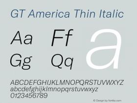 GT America Thin