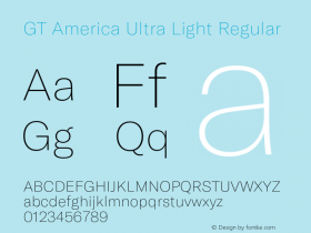 GT America Ultra Light