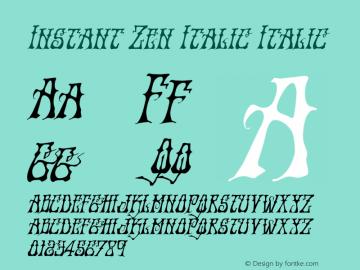 Instant Zen Italic