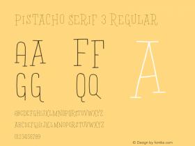 Pistacho Serif 3
