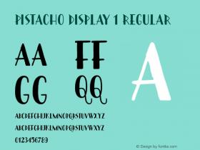 Pistacho Display 1