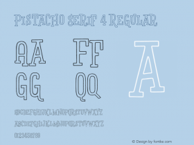Pistacho Serif 4