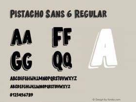 Pistacho Sans 6