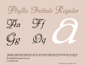 Phyllis Initials