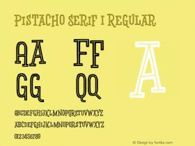 Pistacho Serif 1