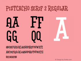 Pistcacho Serif 2