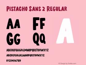 Pistacho Sans 2