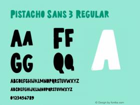 Pistacho Sans 3