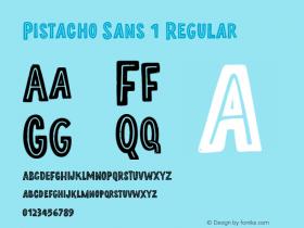 Pistacho Sans 1