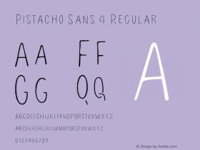 Pistacho Sans 4