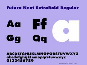 Futura Next ExtraBold