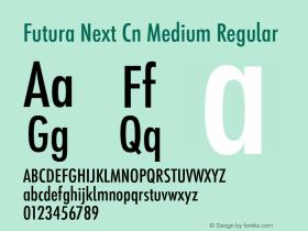 Futura Next Cn Medium