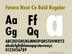 Futura Next Cn Bold