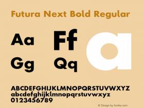 Futura Next Bold
