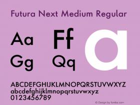 Futura Next Medium