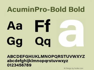 AcuminPro-Bold