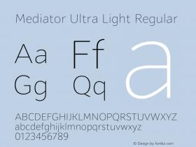 Mediator Ultra Light