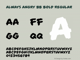 Always Angry BB Bold