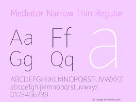 Mediator Narrow Thin