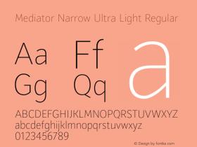 Mediator Narrow Ultra Light