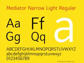 Mediator Narrow Light