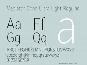 Mediator Cond Ultra Light