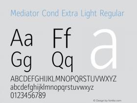Mediator Cond Extra Light