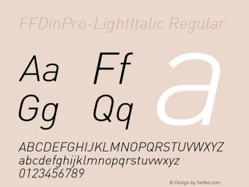 FFDinPro-LightItalic