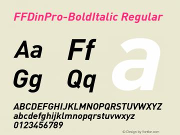 FFDinPro-BoldItalic